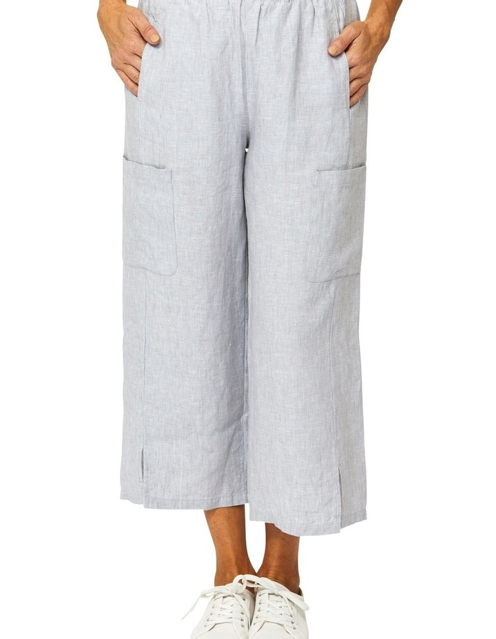 Patch Pocket Linen Pant image 1