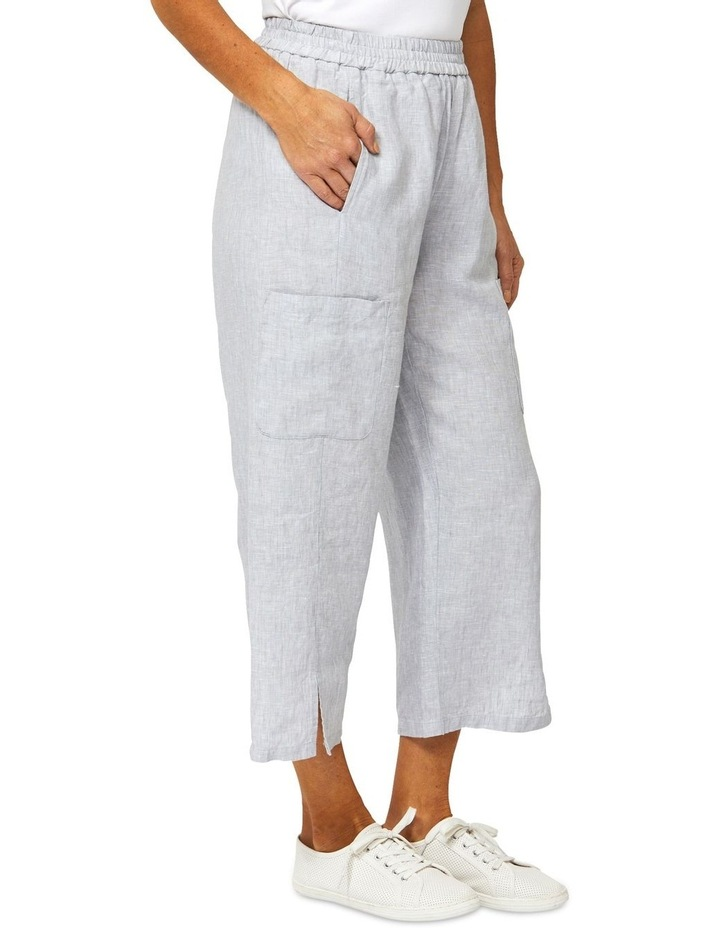 Patch Pocket Linen Pant image 2