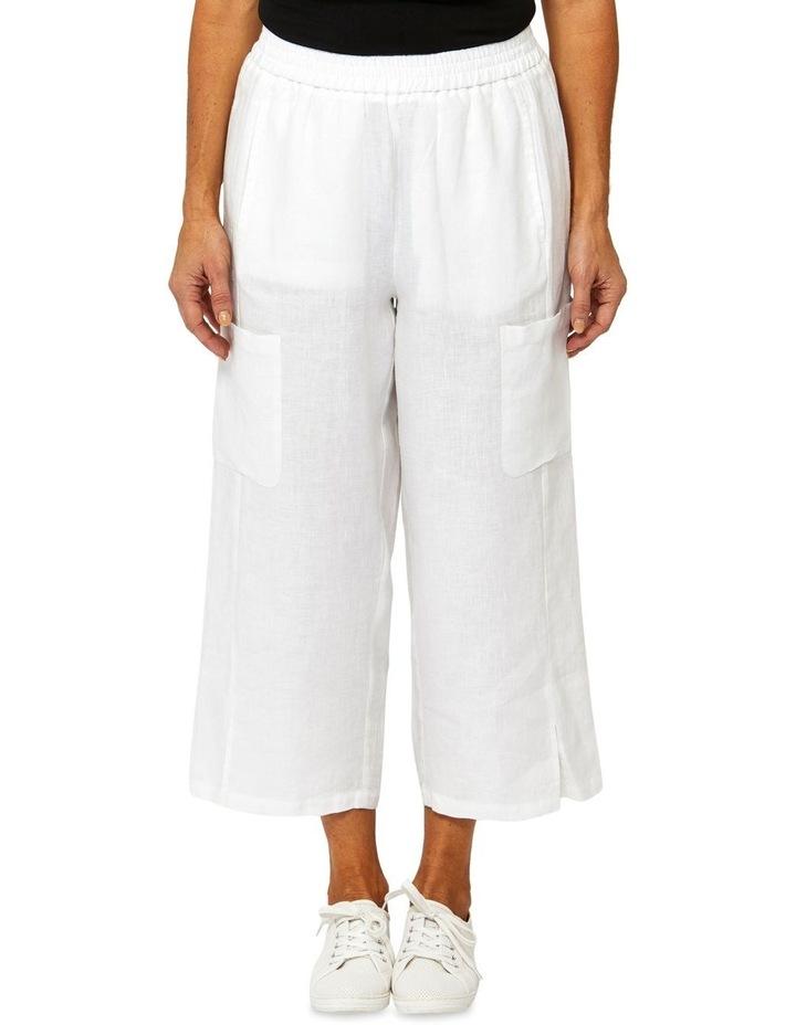 Patch Pocket Linen Pant image 1