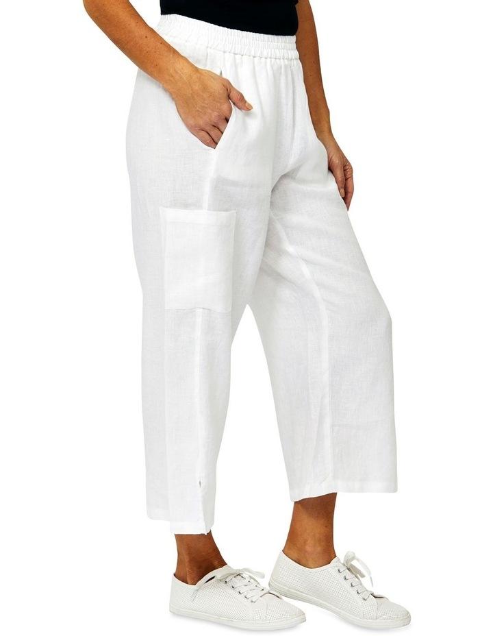 Patch Pocket Linen Pant image 2