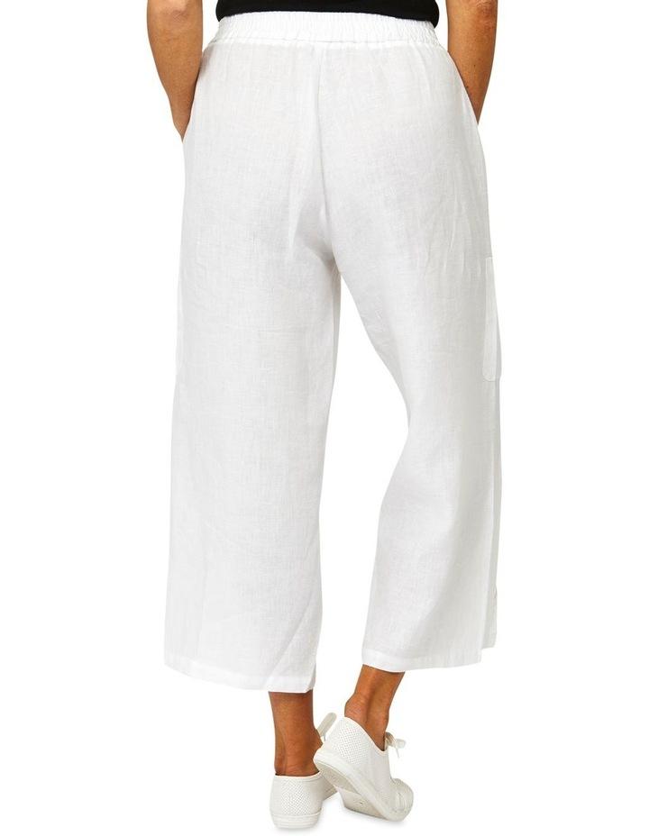 Patch Pocket Linen Pant image 3