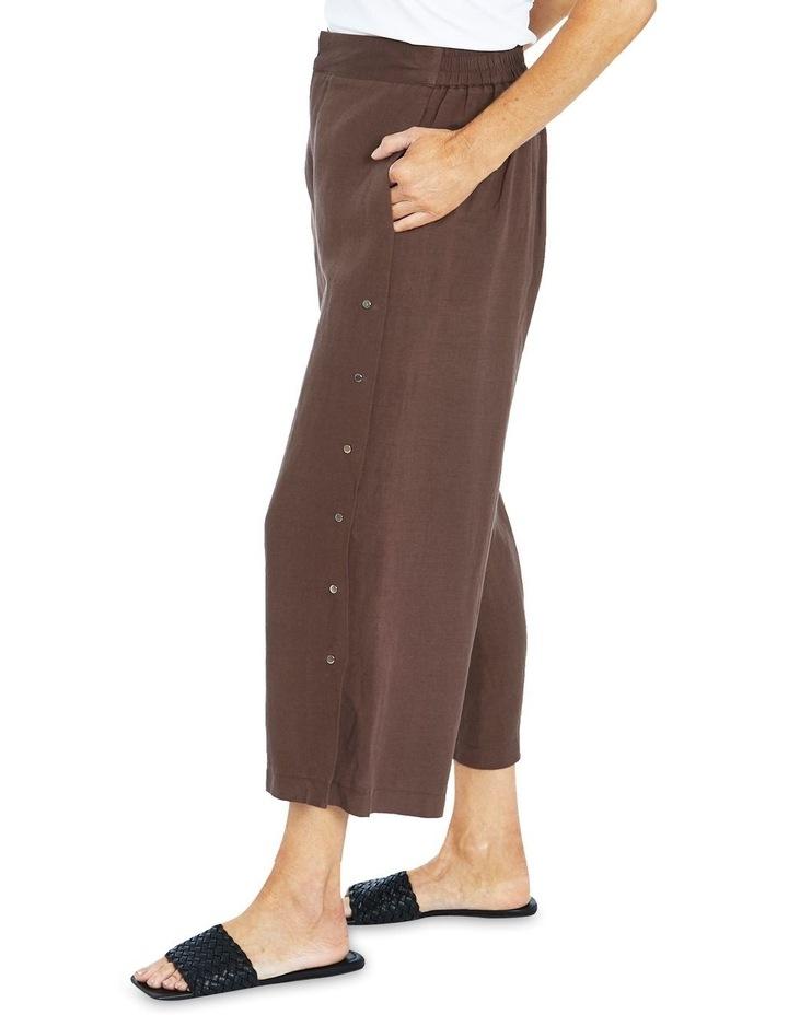 Stud Trim Culotte Pant image 3