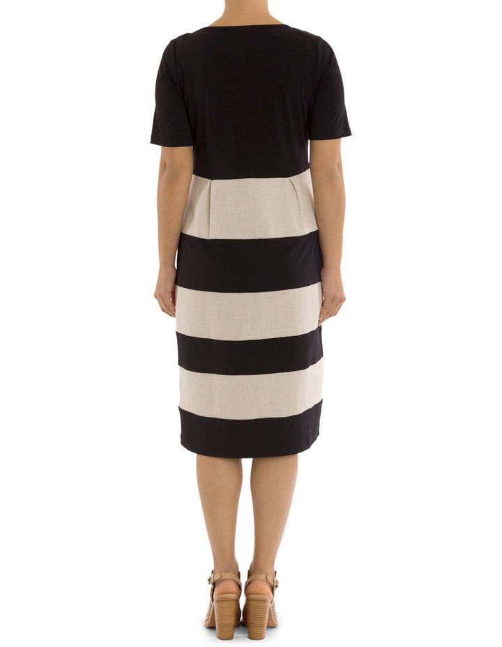 Short Sleeve Spliced Dress image 3