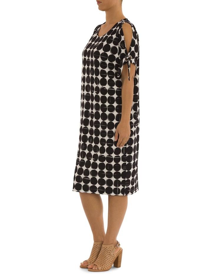 Cut Out Shoulder Print Dress image 2