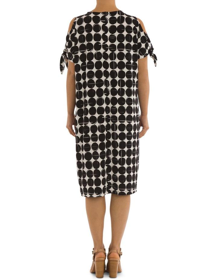 Cut Out Shoulder Print Dress image 3