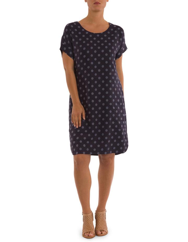 Linen Spot Print Dress image 1