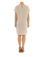PINGPONG - Linen Spot Print Dress