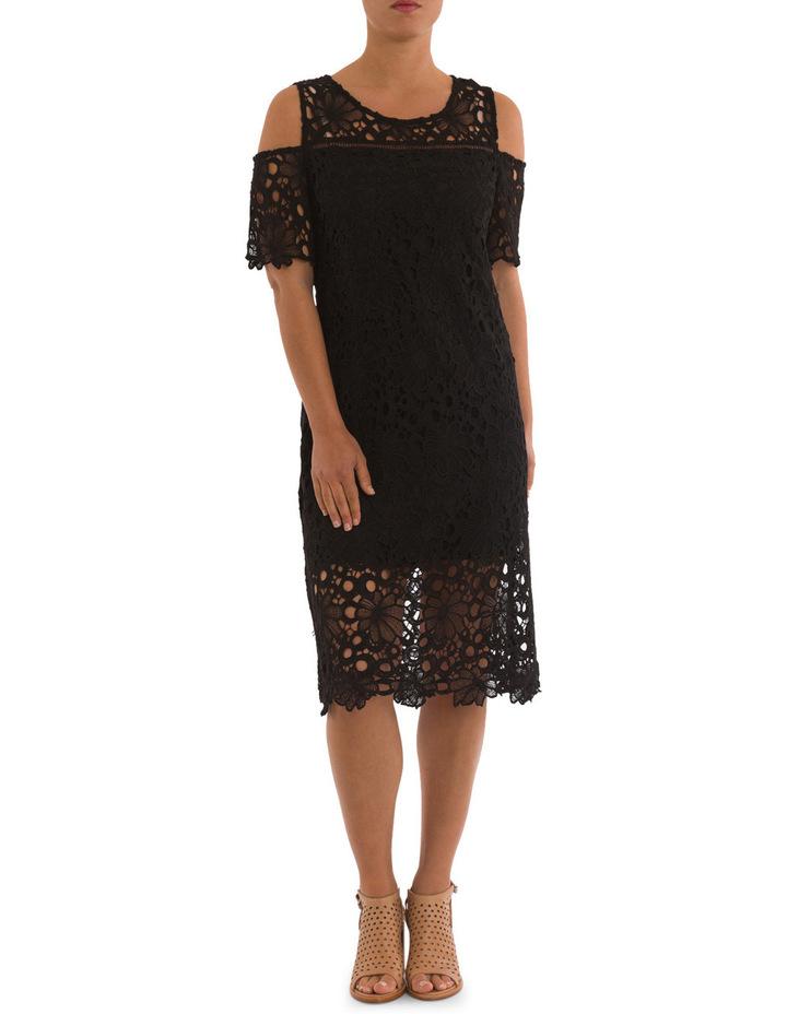 Cold Shoulder Lace Dress image 1