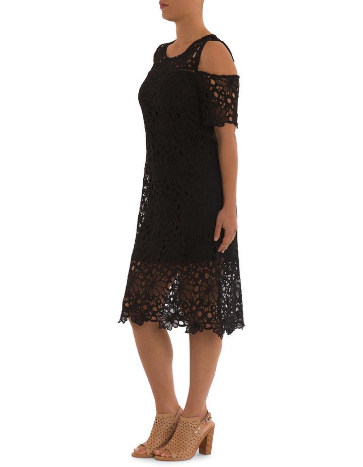 Cold Shoulder Lace Dress image 2