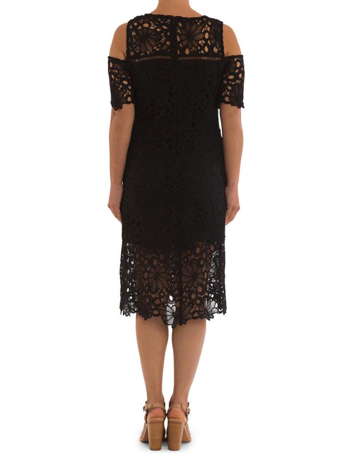 Cold Shoulder Lace Dress image 3