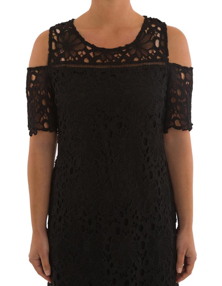 Cold Shoulder Lace Dress image 4