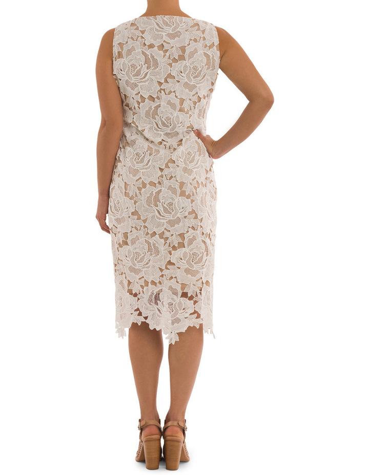 Sleeveless Lace Applique Dress image 3