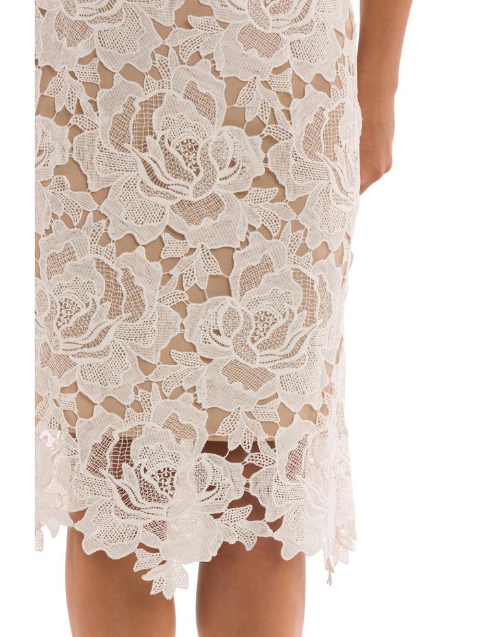Sleeveless Lace Applique Dress image 4