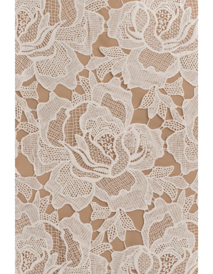 Sleeveless Lace Applique Dress image 5