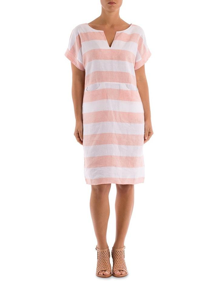 Block Stripe Dress image 1