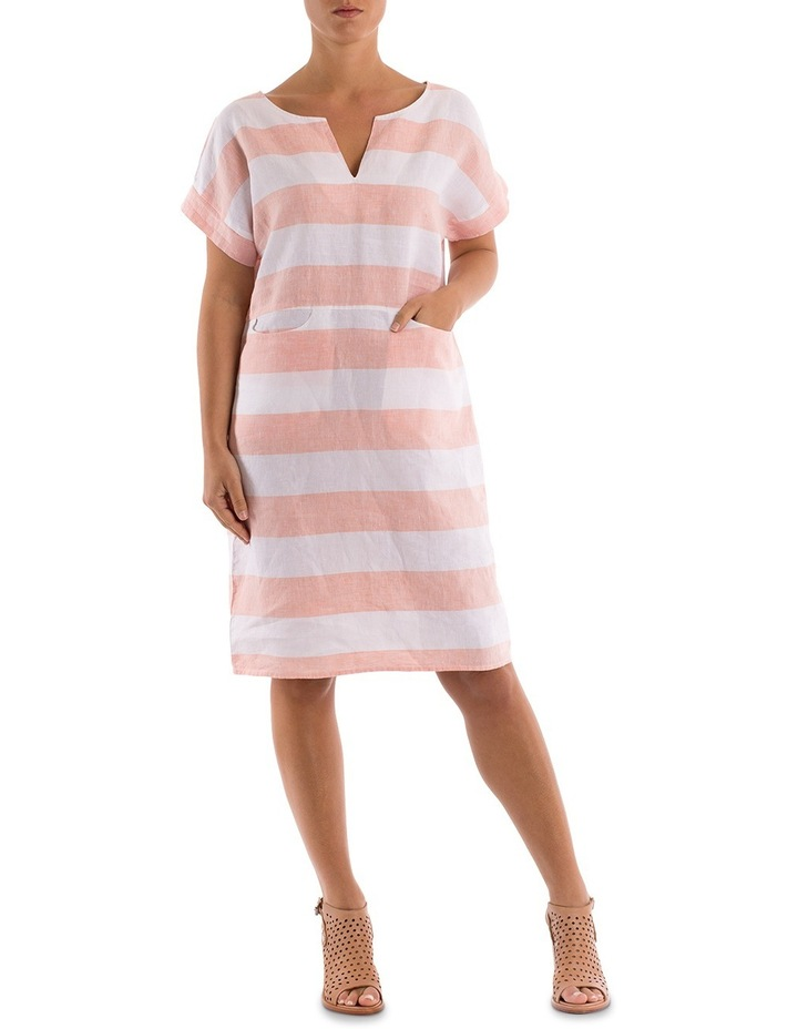 Block Stripe Dress image 2