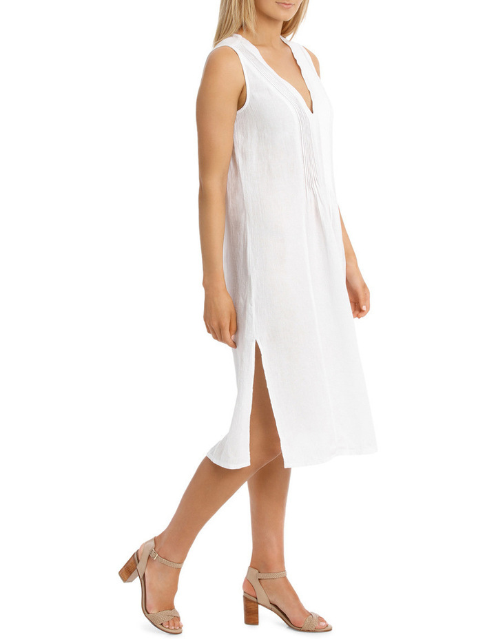 Sleeveless Crinkle Beach Dress image 2