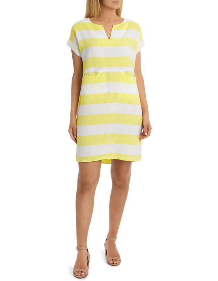 Block Stripe Dress image 1