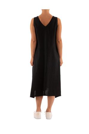PINGPONG - Sleeveless Linen Dress