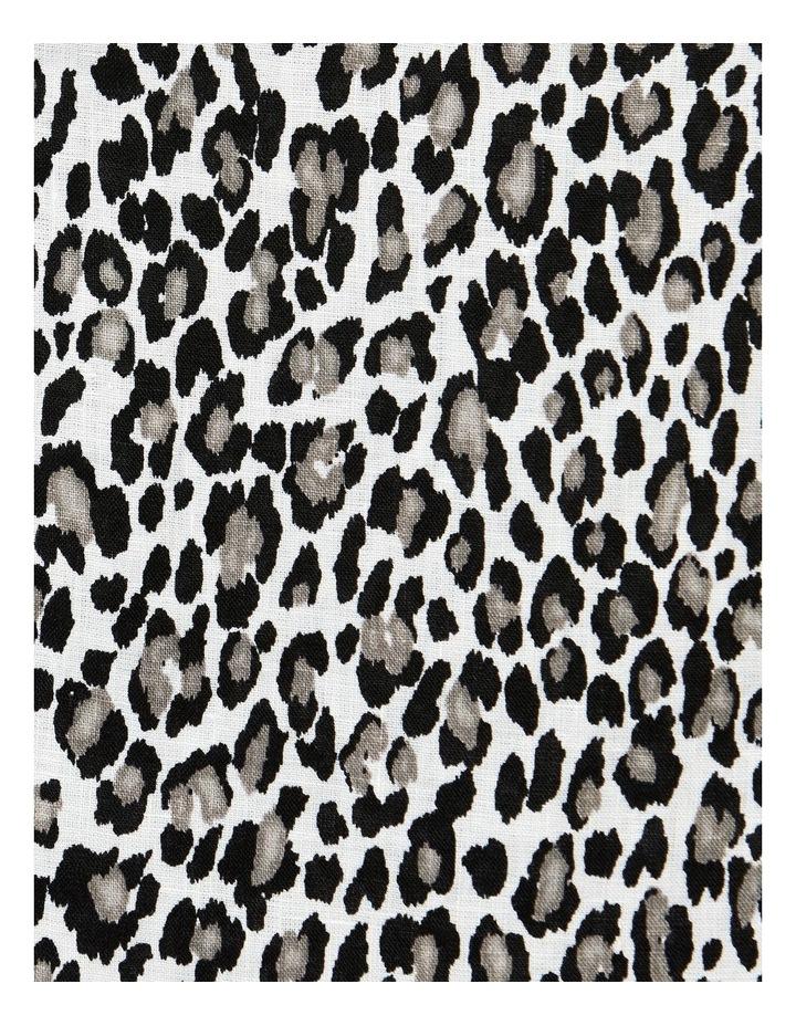 Sahara Print Linen Skirt image 4