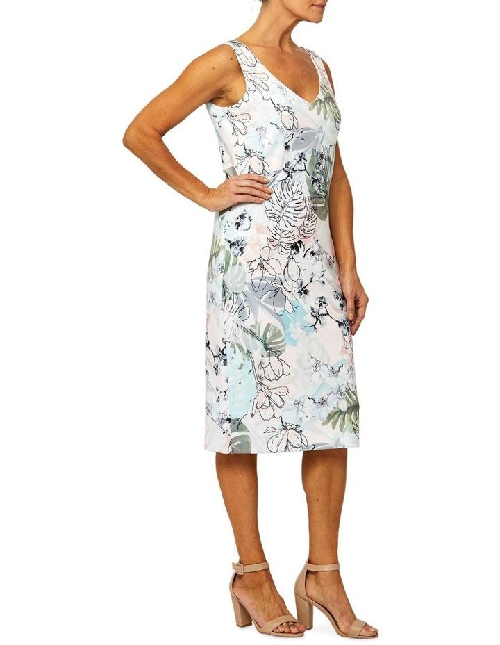 Sleeveless Jungle Print Dress image 2