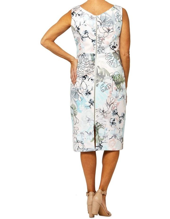Sleeveless Jungle Print Dress image 3