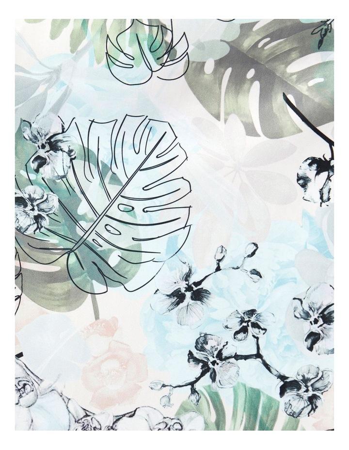 Sleeveless Jungle Print Dress image 4