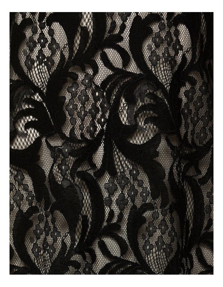 Short Sleeve Lace Shift Dress image 4