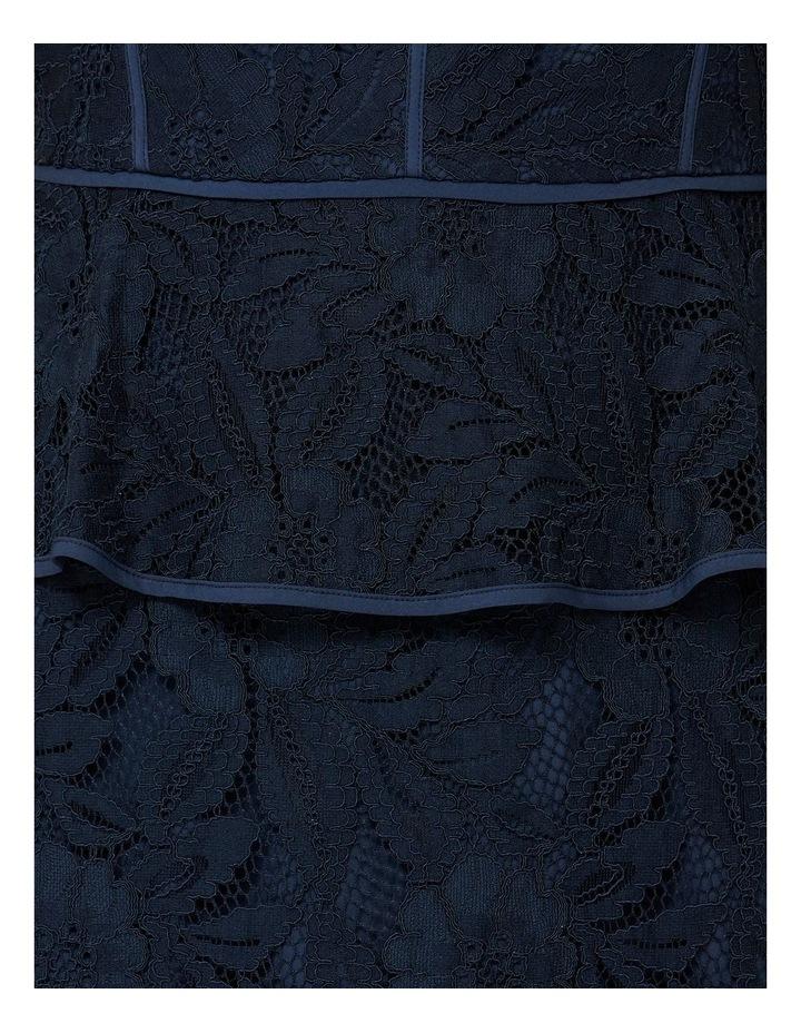 Sleeveless Lace Peplum Dress image 4