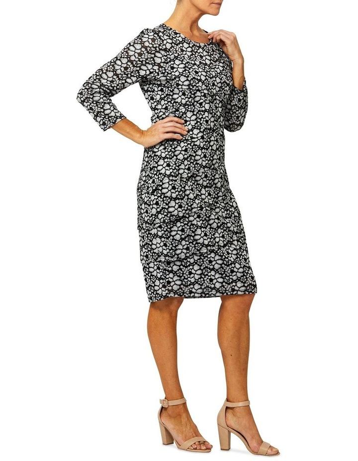 3/4 Sleeve Bandage Lace Dress image 2