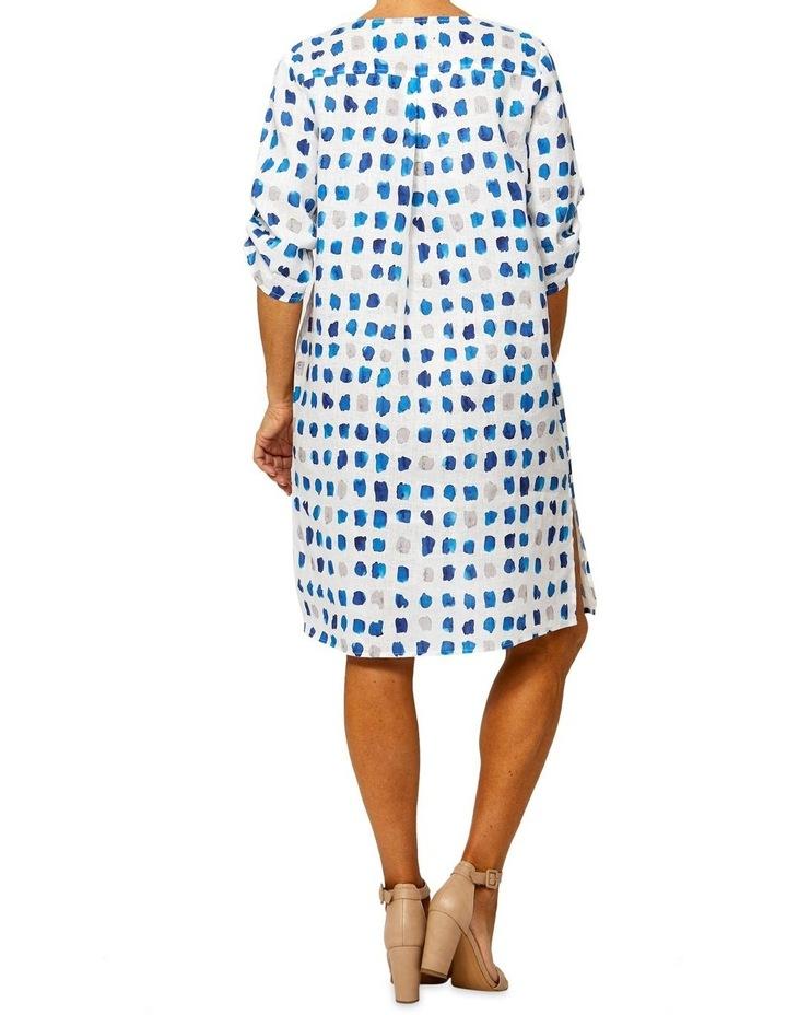 Tile Print Linen Dress image 3