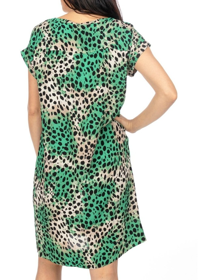 Drop Shoulder Capri Print Dress image 3
