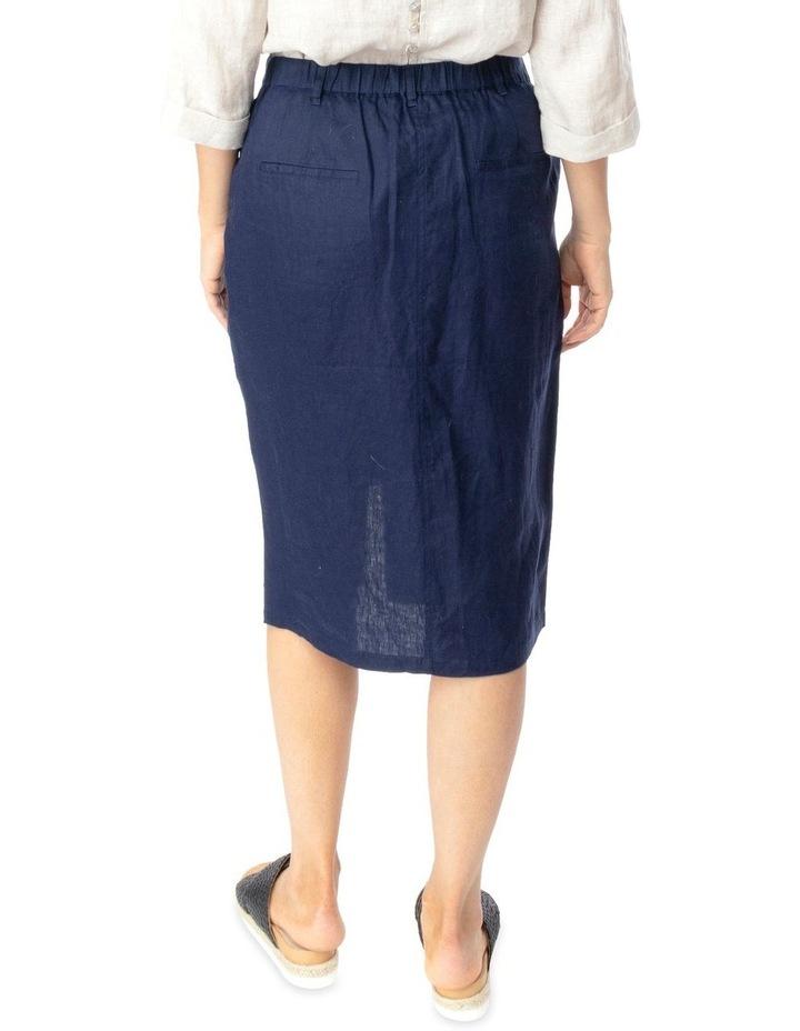 Linen Utility Skirt image 3
