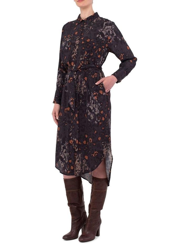 Phantom Print Shirt Dress image 3
