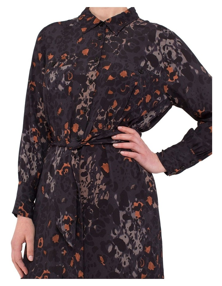 Phantom Print Shirt Dress image 5