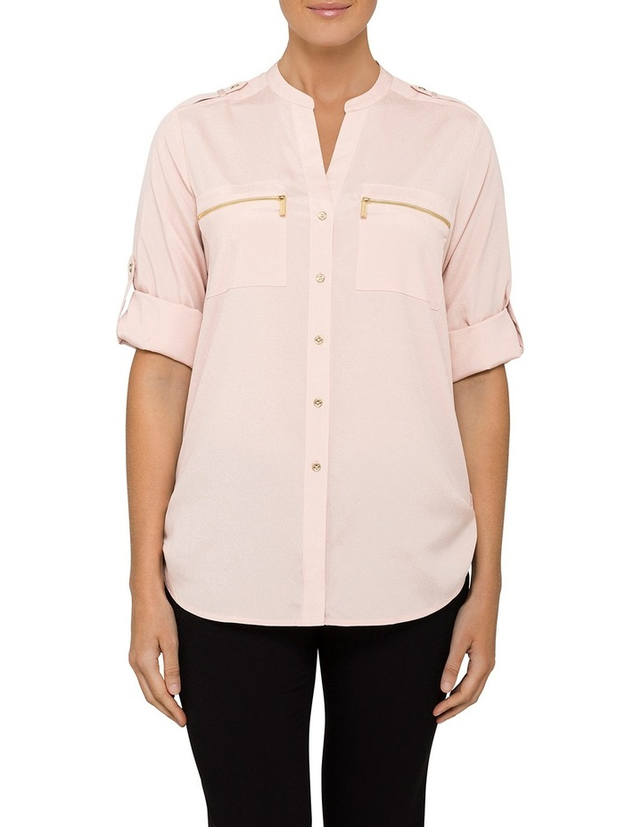 Shirt With Zips Roll Sleeve Shirt image 1