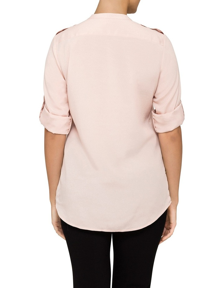 Shirt With Zips Roll Sleeve Shirt image 2