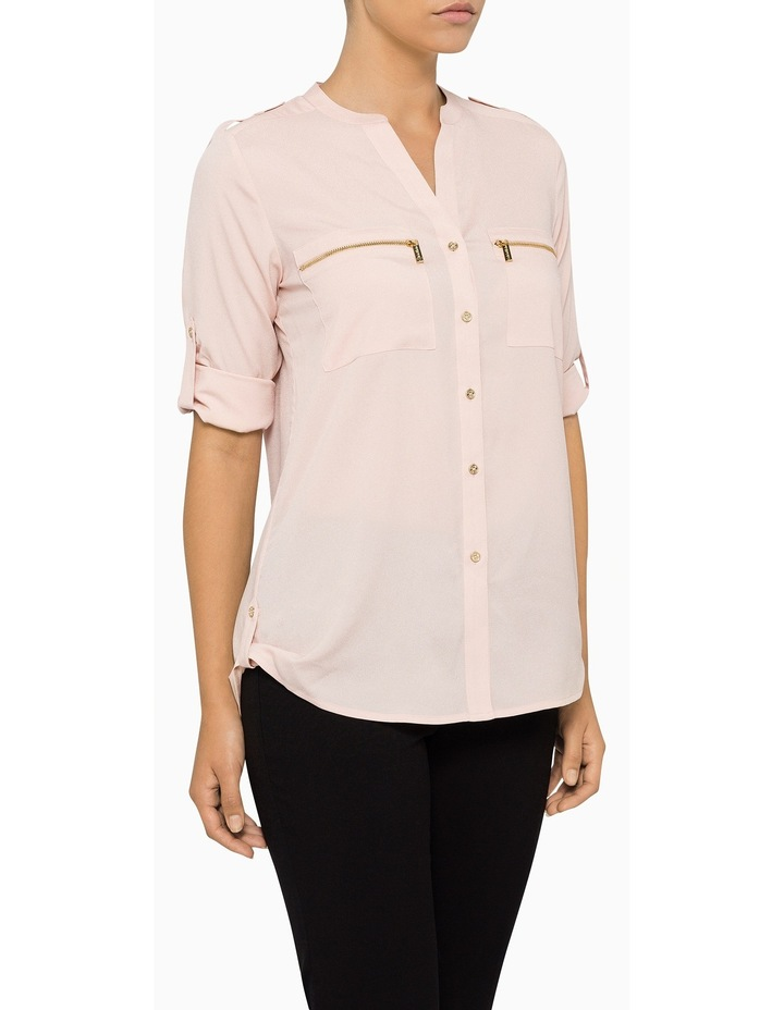 Shirt With Zips Roll Sleeve Shirt image 3