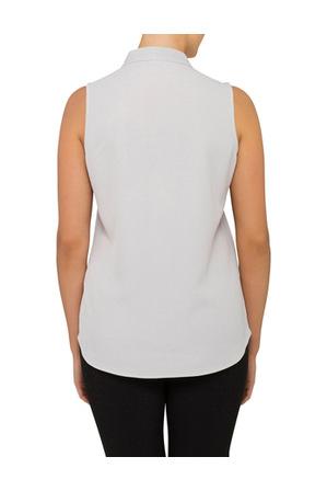 Calvin Klein White - Top Sleevelees Vneck
