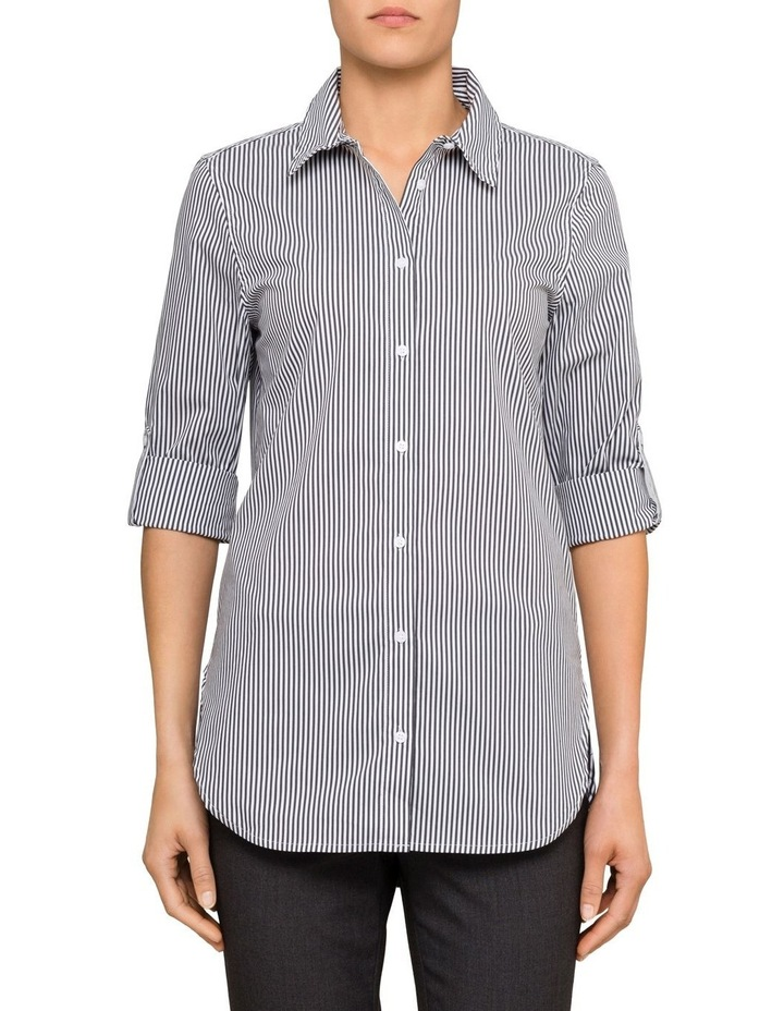 Long Sleeve Striped Shirt image 1