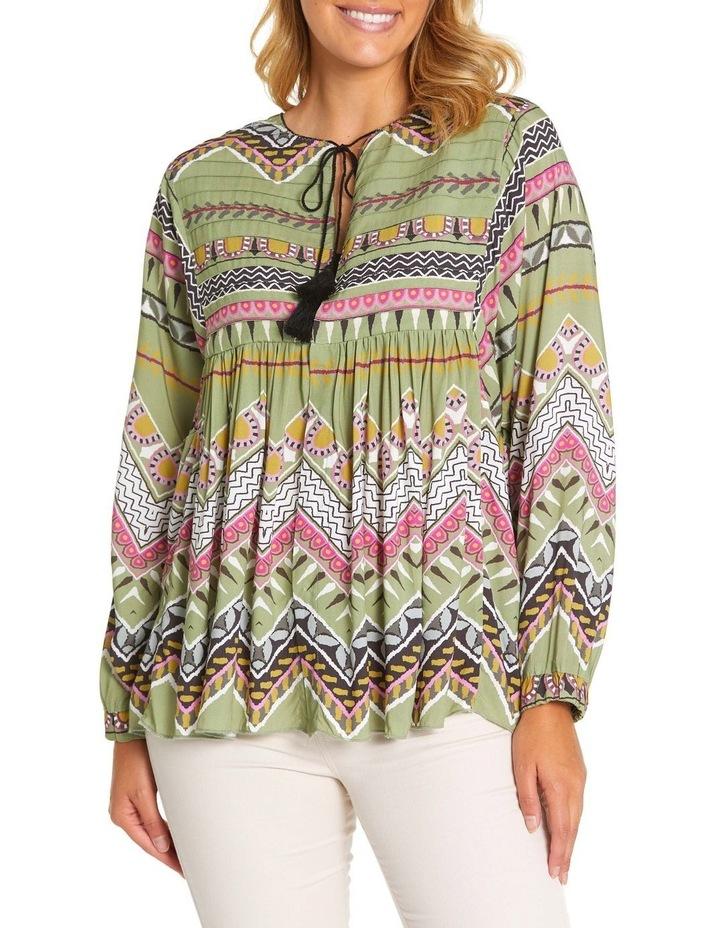 Long Sleeve Tuck Detail Shirt Jkt image 1
