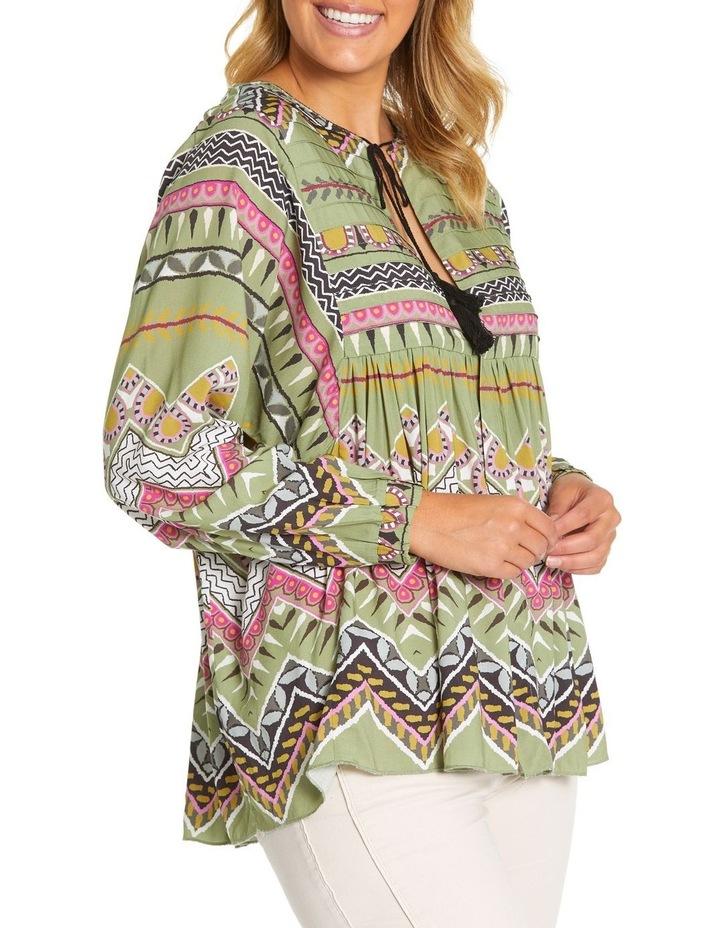 Long Sleeve Tuck Detail Shirt Jkt image 2