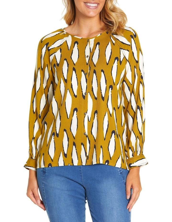 Long Sleeve Contrast Stitch Shirt image 1