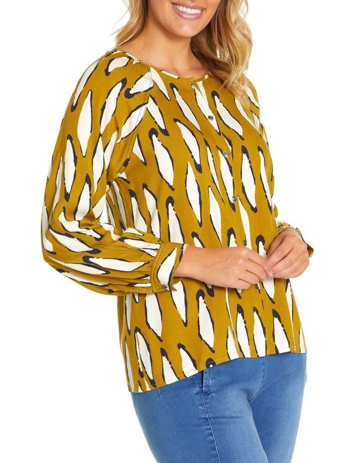 Long Sleeve Contrast Stitch Shirt image 2