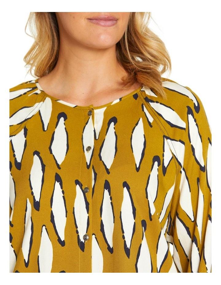 Long Sleeve Contrast Stitch Shirt image 4