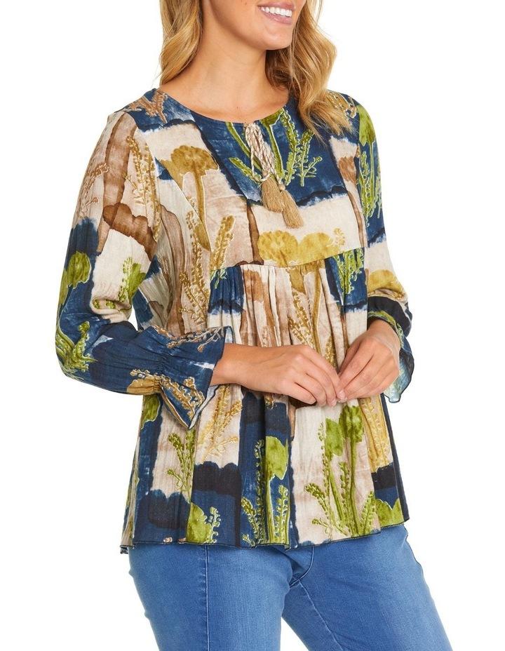 Long Sleeve Gathered Detail Shirt image 2