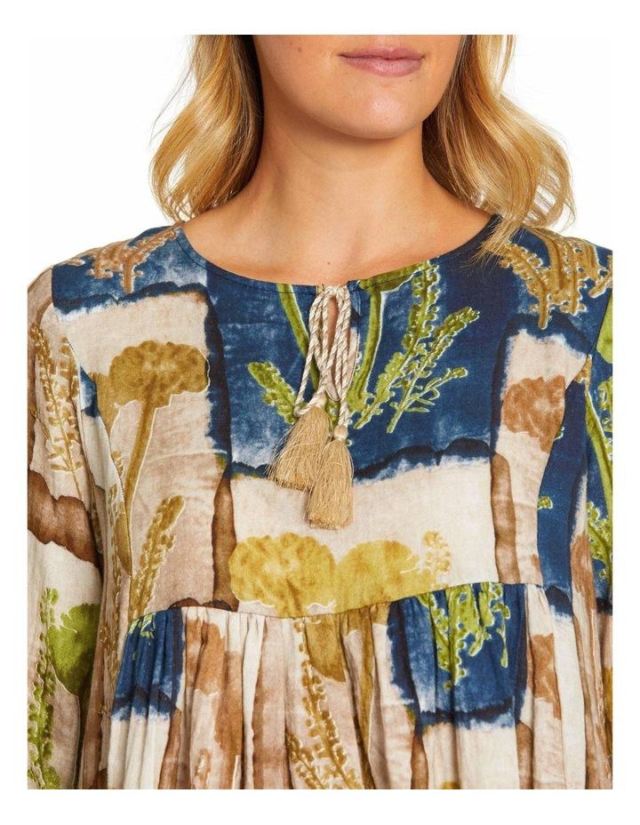 Long Sleeve Gathered Detail Shirt image 4