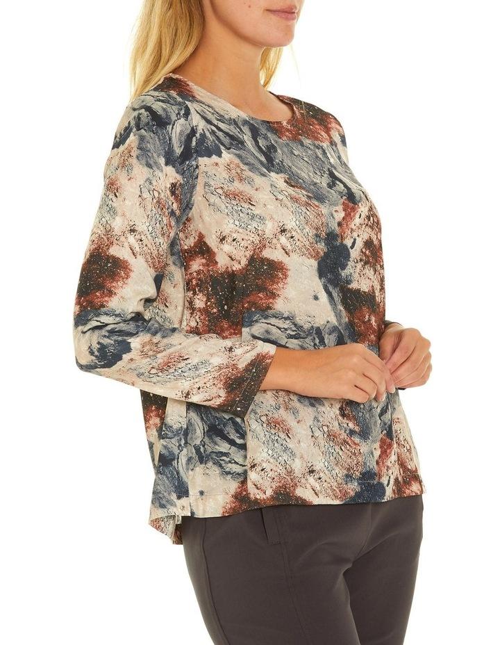 Long Sleeve Dart Front Shirt image 2