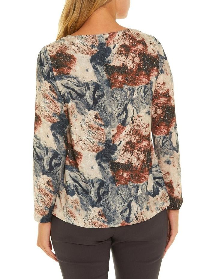 Long Sleeve Dart Front Shirt image 3