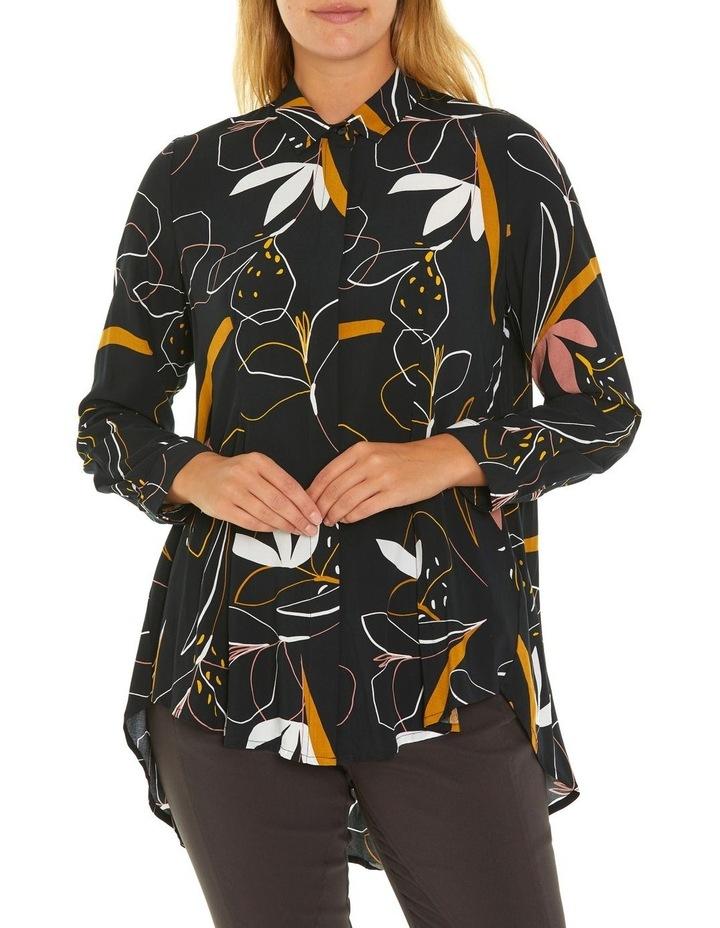 Long Sleeve Longline Shirt image 1